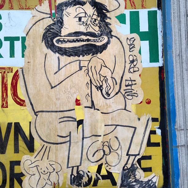 #graffiti #detroit #streetart uhmm look wAt he's doing