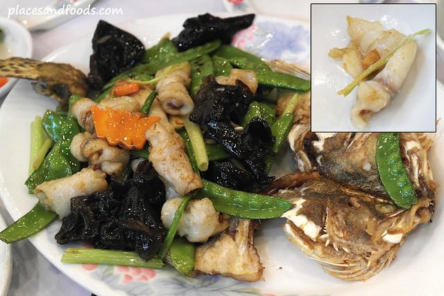 Fung Shing Restaurant (鳳城酒家) fish roll