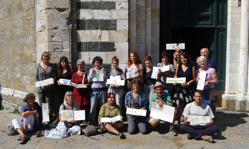 Volterra Urban Sketchers Workshop 2013