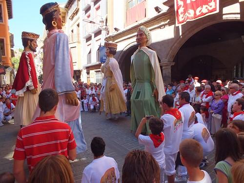 Navarra, Sangüesa, calle, palacio