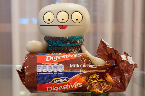 Uglyworld #2064 - Chocolate Digestivers - (Project Cinko Time - Image 266-365) by www.bazpics.com