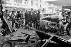 SAIGON 1971 - Vụ nổ bom tại vũ trường Tự Do  (góc Tự Do-Thái Lập Thành, nay là góc Đồng Khởi - Đông Du)