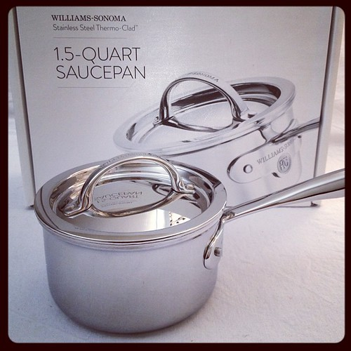Oh I do love shiny things ;D Thanks @williamssonomaaus, can't wait to try out the new pans!