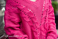 art, pattern, textile, magenta, wool, clothing, outerwear, knitting, crochet, woolen, pink, sweater,