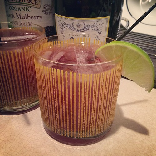 Mulberry-Lime French 75