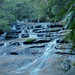 Leura cascades in the shade by Wayne~Chadwick