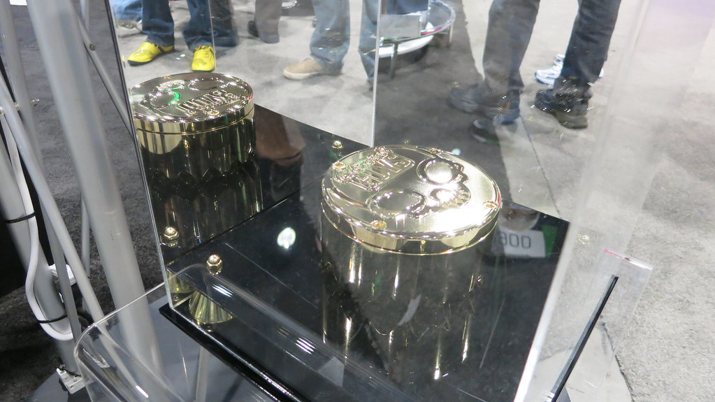 SEMA Show Day 2 - Chemical Guys Gold