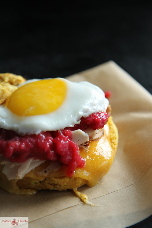 Sweet Potato Biscuit Breakfast Sandwich