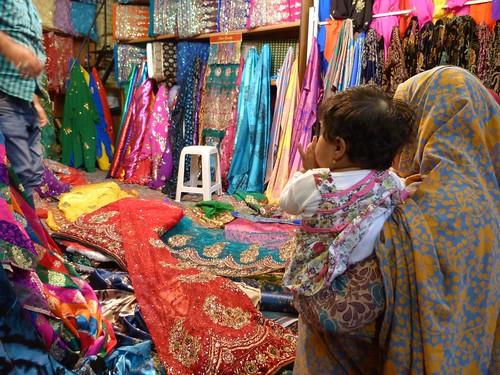 En un bazar de Irán