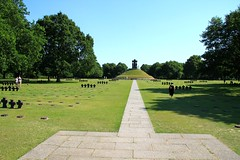 Germany Military Cemetery at La Cambe in Normandy