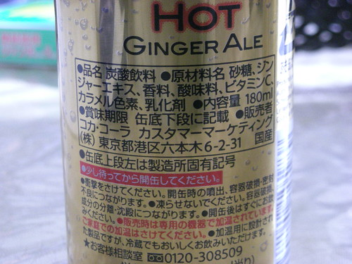 Hot Ginger Ale