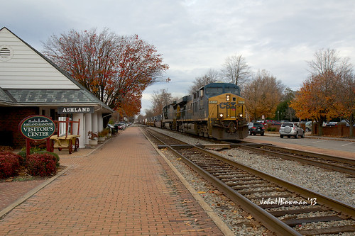 november virginia trains freighttrains ashland trainstations railroadtracks amtrakstation hanovercounty canon2470l nrhp 2013 csxtrains november2013 ashlanddepot rfpstations