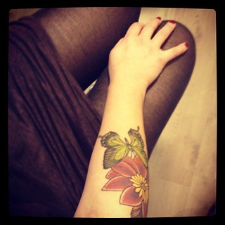 I love my tattoo #tattoo #ethnotattoopiercing #lausanne #switzerland