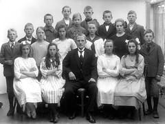 Avgangklasse Byåsen skole (1921)