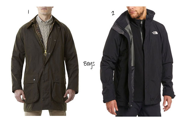 Coats for men