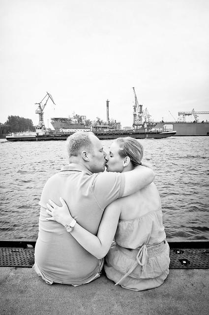 Paarshooting Hamburger Hafen