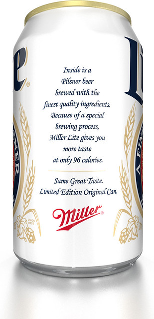 MILLER LITE ORIGINAL LITE CAN