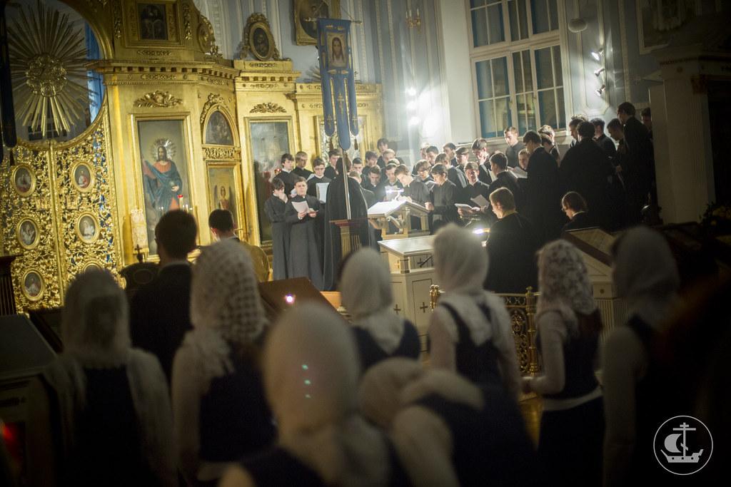 22 декабря 2013, Богослужения в Неделю 26-ю по Пятидесятнице
