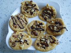 Karamell-Cookies und Braune Kuchen