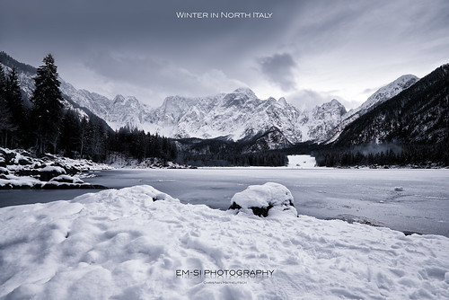 Winter in North Italy