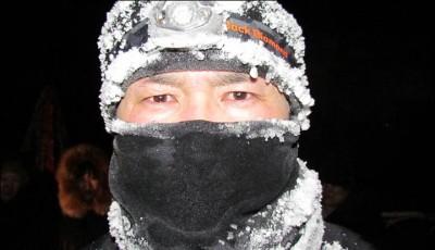 Uběhl maraton na nejchladnějším místě světa v -38°C