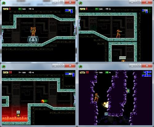 Metroid: Confrontation distintas capturas de pantalla