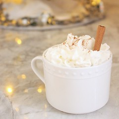 Spiked Cinnamon Hot Chocolate