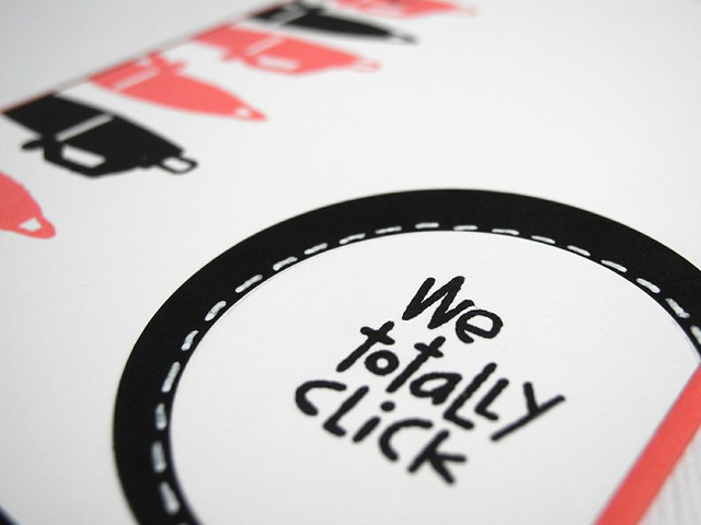 We Totally Click (detail)