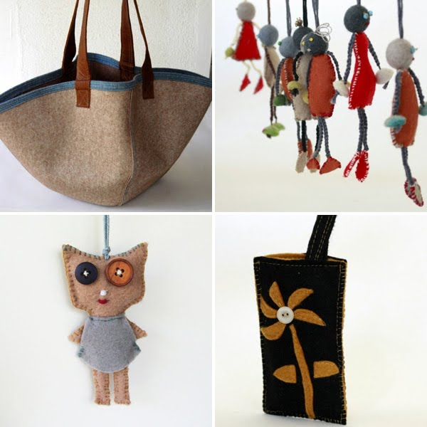 Upcycled and handmade by Anna Lela on Etsy, via Emma Lamb