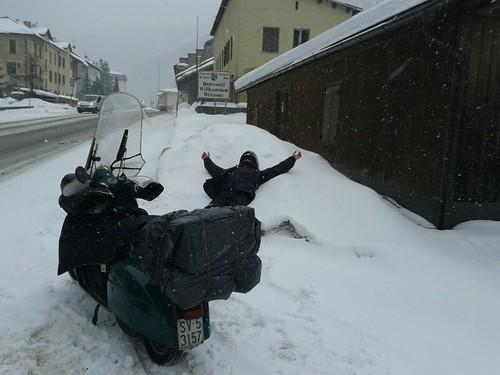 #tigellelefanten2014 #brennero bagno di neve by manuelongo