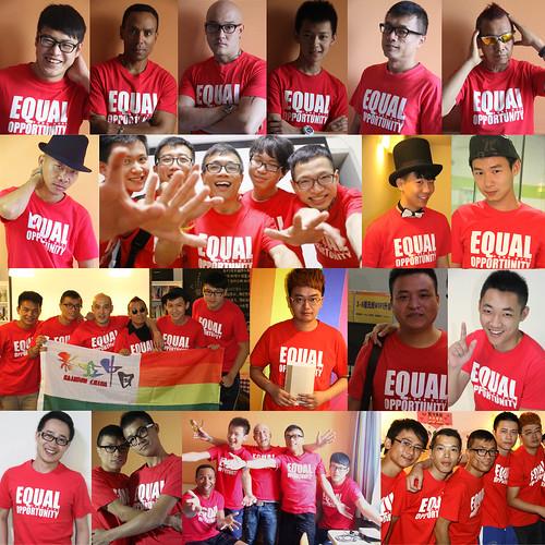 彩虹中国T恤