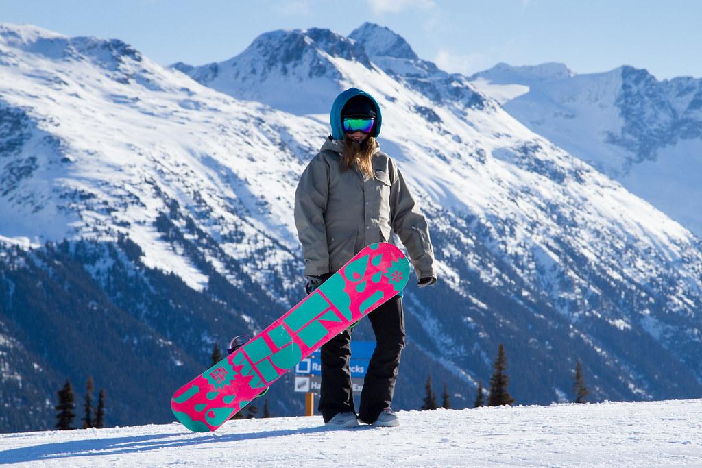 finnish female snowboarder whistler blackcomb