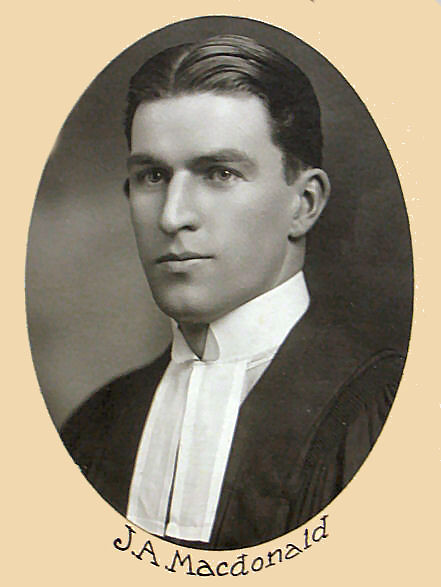 Header of John Alexander Macdonald