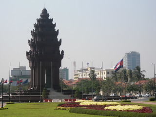 Image of Independence Monument. cambodge cambodia phnompenh ភ្នំពេញ វិមានឯករាជ្យ