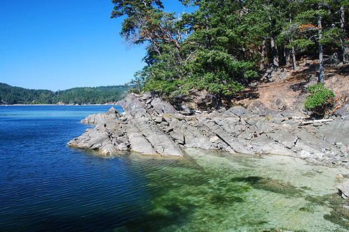 Beaumont Marine Park, Bedwell Harbour, South Pender Island, Gulf Islands National Park, British Columbia, Canada