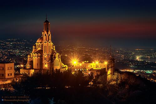 lebanon church basilica religion christianity harissa jounieh travelphotography stspeterandpaulchurch melkitegreekcatholiccathedral