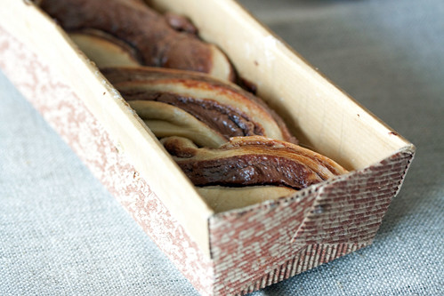 Chocolate Krantz in Loaf Tin from Israel