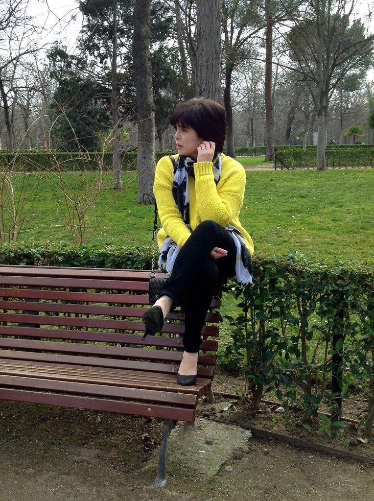 Parque del Buen Retiro, Madrid, España - Outfit of the Day - OOTD
