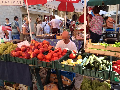 Fresh market, Dubrovnik