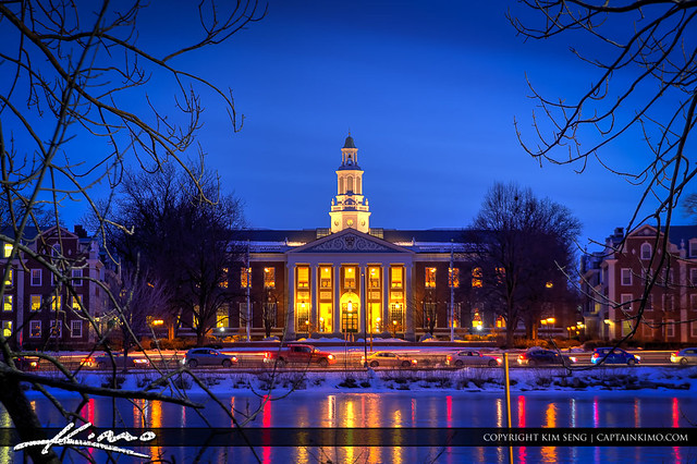 Baker Library Harvard Business School Charles River