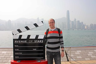Dan and the Avenue of Stars