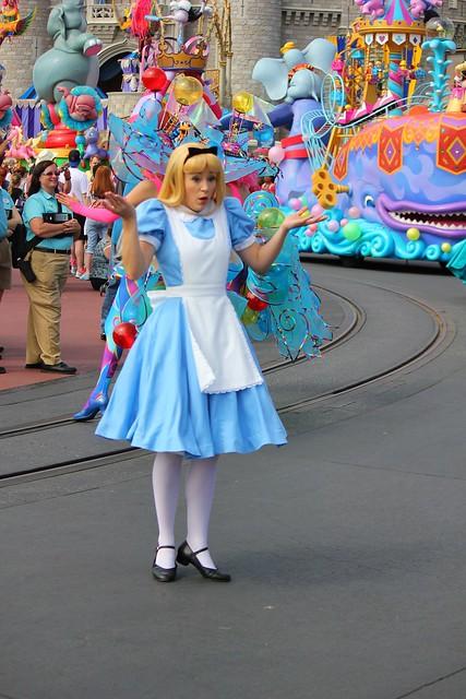 Festival of Fantasy parade at Walt Disney World
