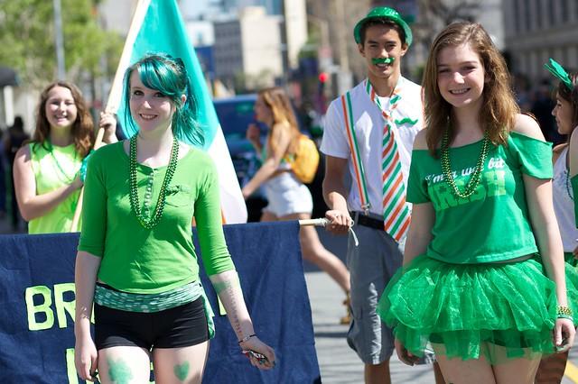 Brosnan School of Irish Dance - 2014 St. Patrick's Day Parade San Francisco