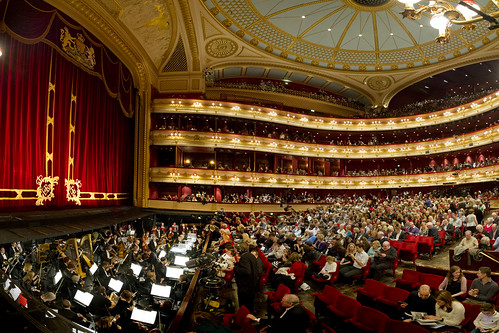 Main stage venues royal opera house for Orchestral house music