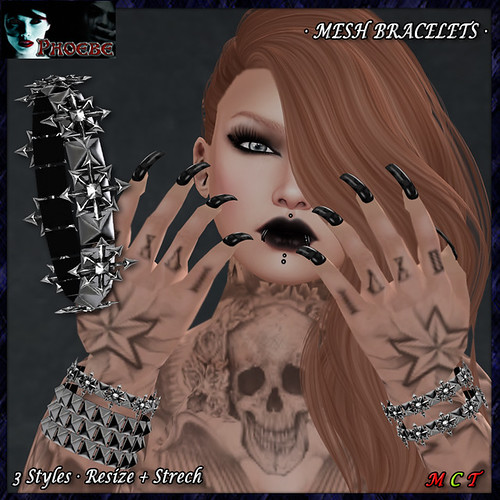 OFFER! *P* Kaos Star MESH Bracelets