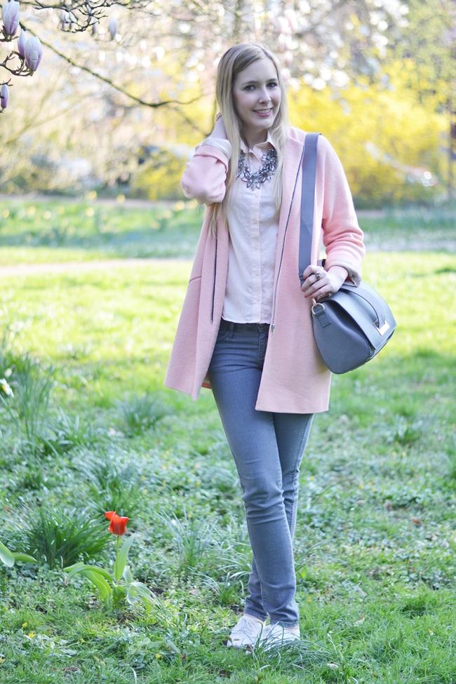 Outfit Grau und Rosa (2)