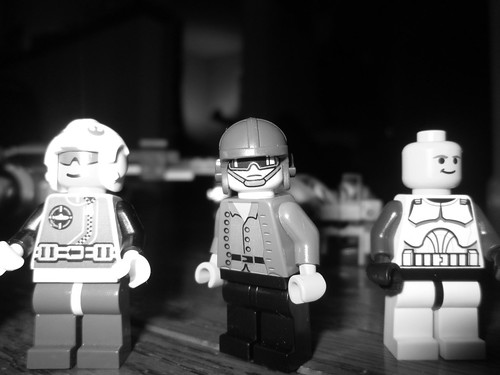"Lego ""Hey you with the camera"""