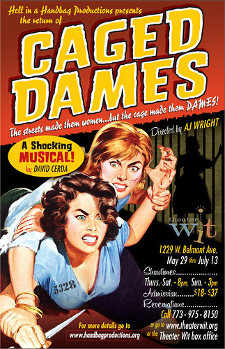 Caged Dames 2014 poster