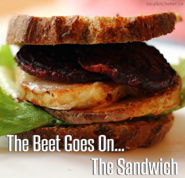The Beet Goes On... The Sandwich