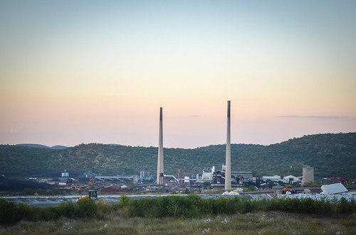 Arsenic waste near Tsumeb smelter